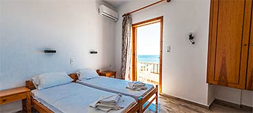 Room with sea view Hotel Alkyon